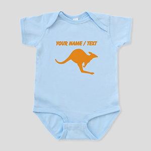 Orange Kangaroo Silhouette Hoodie1005844711 Baby Clothes