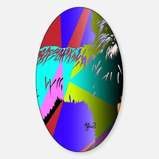 ipad Sticker (Oval)