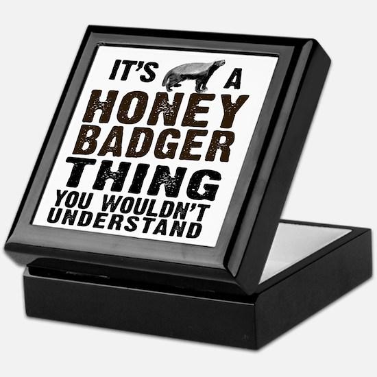 Honey Badger Thing Keepsake Box