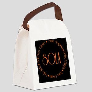 sola11 Canvas Lunch Bag