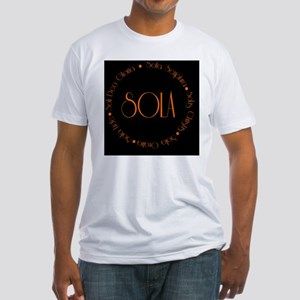 sola11 Fitted T-Shirt