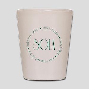 sola4 Shot Glass