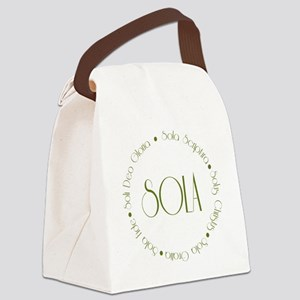 sola3 Canvas Lunch Bag