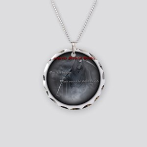 reaper2 Necklace Circle Charm