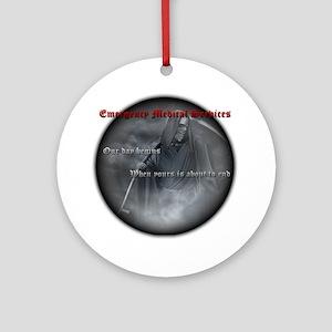 reaper2 Round Ornament