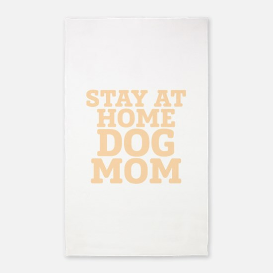 Stay At Home Dog Mom Area Rug