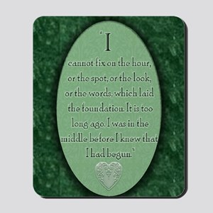 nook_darcy_quote Mousepad