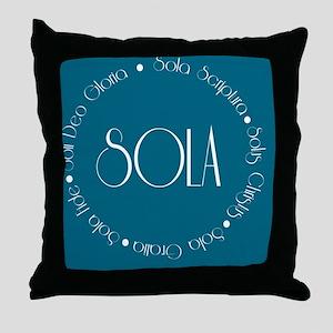 sola14 Throw Pillow