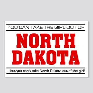 Girl out of n dakota Postcards (Package of 8)