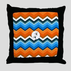 Bluebird Blanket Throw Pillow