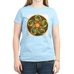 Celtic Pentacle Spiral Women's Light T-Shirt
