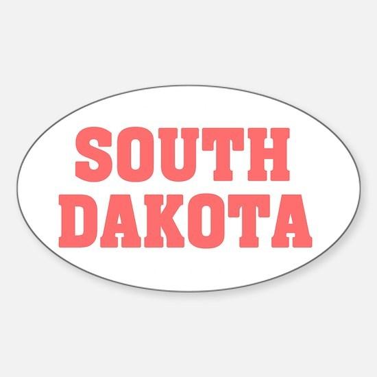Girl out of s dakota light Sticker (Oval)