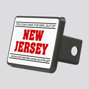 Girl out of new jersey Rectangular Hitch Cover