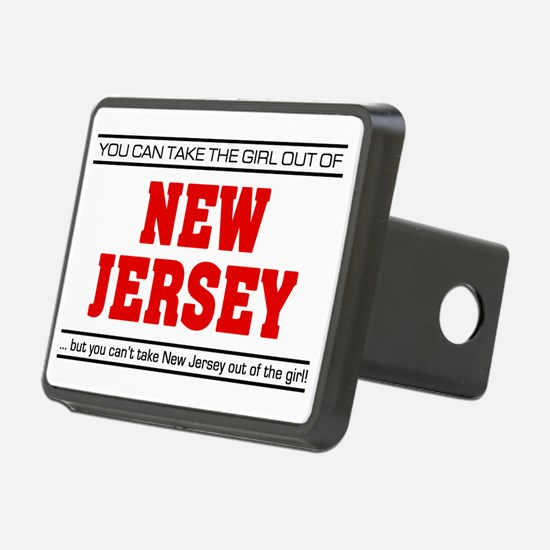 Girl out of new jersey Hitch Cover