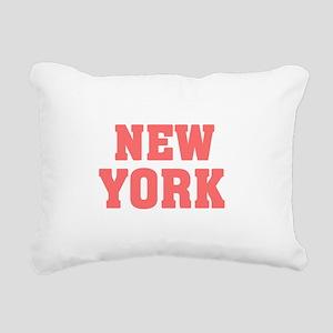 Girl out of new york lig Rectangular Canvas Pillow