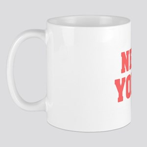 Girl out of new york light Mug