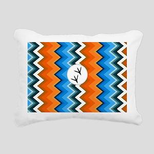 Bluebird Coin Purse Rectangular Canvas Pillow