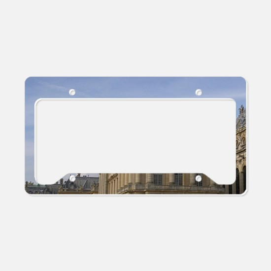 France, Versailles front cour License Plate Holder