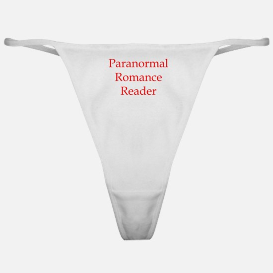 Paranormal Romance Classic Thong