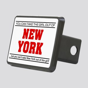 Girl out of new york Rectangular Hitch Cover