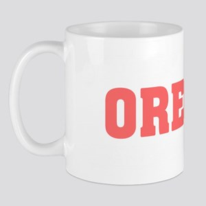 Girl out of oregon light Mug
