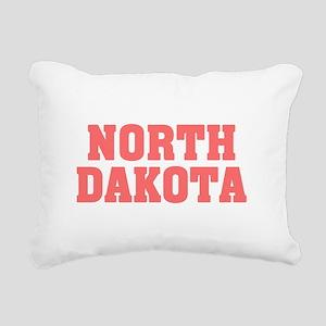Girl out of n dakota lig Rectangular Canvas Pillow