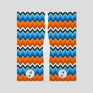 bluebird flip flops Throw Blanket