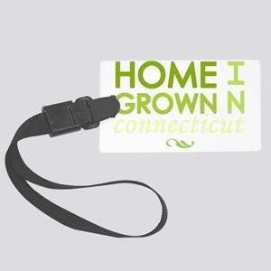 Home grown connecticut light Large Luggage Tag