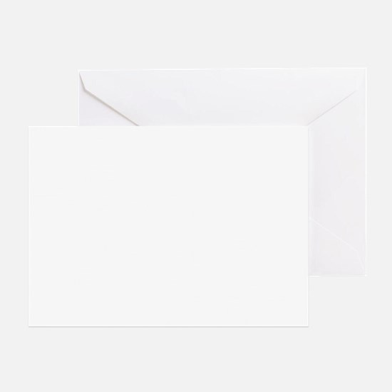 be you tiful, white, grenouille Greeting Card