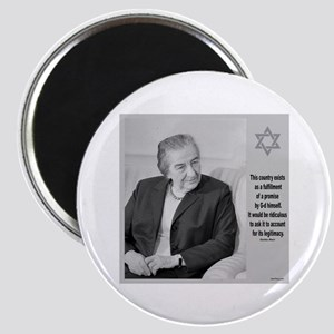 Golda Meir Israel And The Divine Magnets