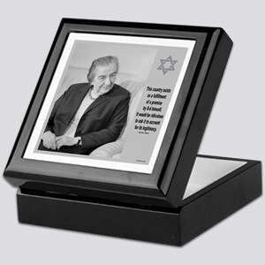 Golda Meir Israel And The Divine Keepsake Box