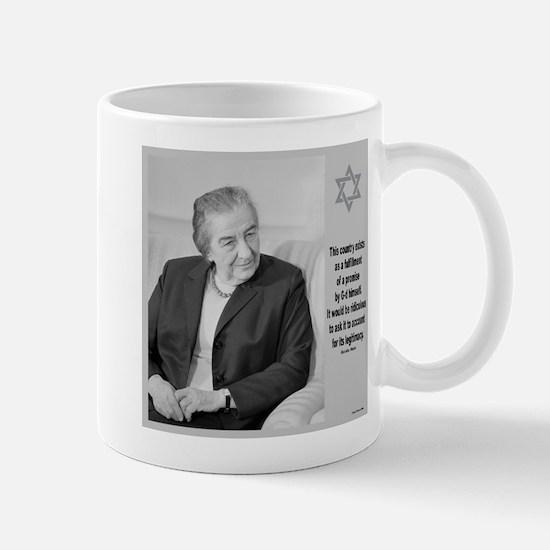 Golda Meir Israel and the Divine Mugs