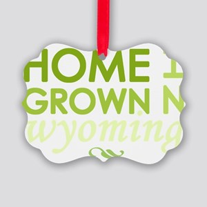 Home grown wyoming light Picture Ornament