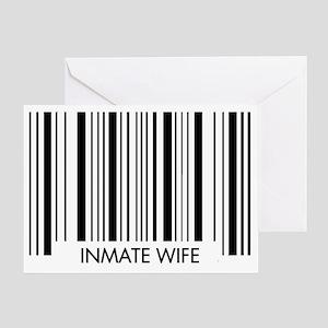 Barcode - Wife Greeting Card