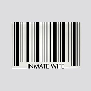 Barcode - Wife Rectangle Magnet