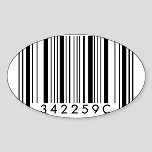 Barcode - SBI Sticker (Oval)