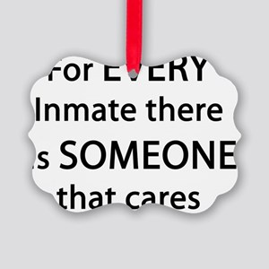 For Every Inmate Picture Ornament