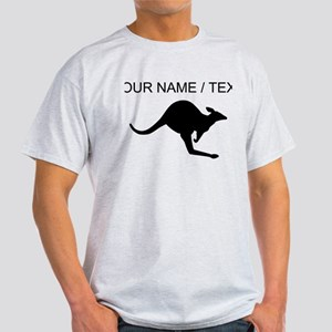 Custom Black Kangaroo T-Shirt