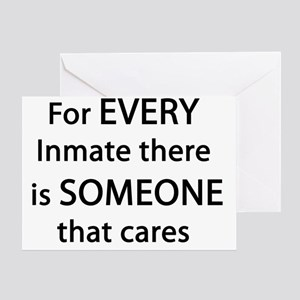 For Every Inmate Greeting Card