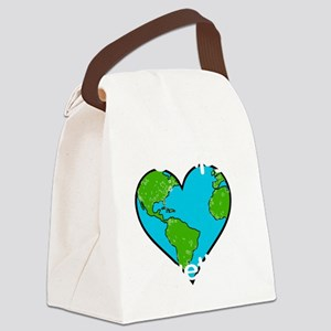 OccupyTogether-black Canvas Lunch Bag