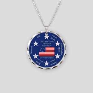 Mid-Atlantic-Recruiting-Bn Necklace Circle Charm