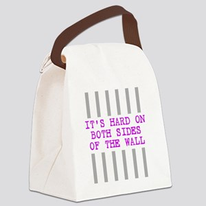 Its hard purple T Canvas Lunch Bag