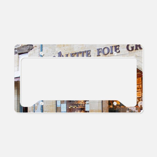 Shop sellilng local duck and  License Plate Holder