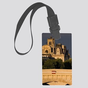 Hotel de Ville Large Luggage Tag
