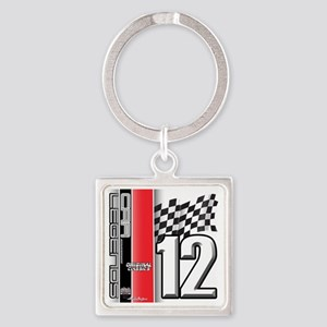 CARLEGENDS2012 Square Keychain