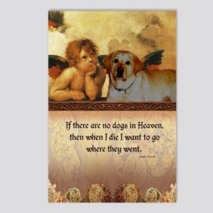 nook_dog_heaven2 Postcards (Package of 8)