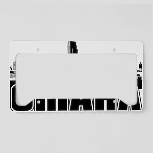 Omaha Skyline License Plate Holder