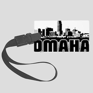 Omaha Skyline Large Luggage Tag