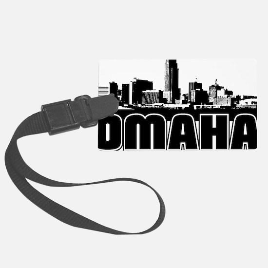 Omaha Skyline Luggage Tag