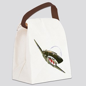 Flying Tigers Canvas Lunch Bag